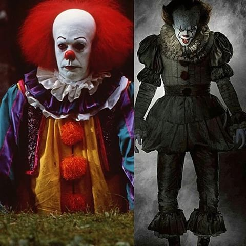 old vs new pennywise