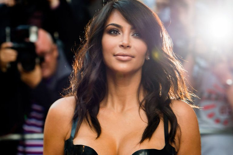 Kim Kardashian contour