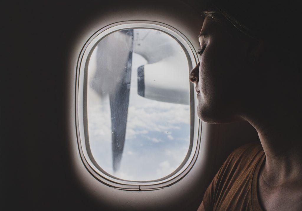 skønhedstips til flyveturen